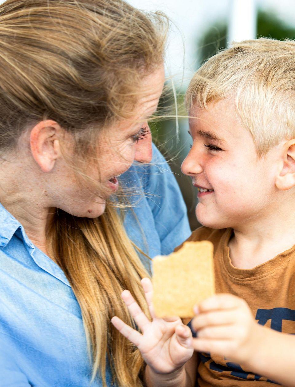 Organspende: Edda mit Sohn Kalle