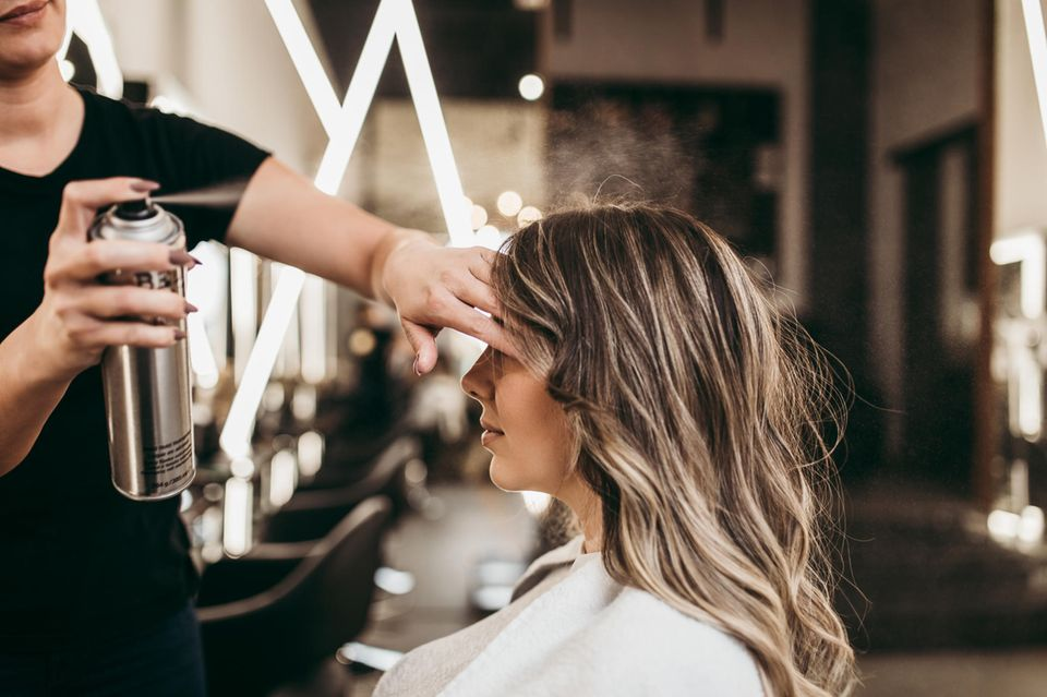 Haarspray-Tipps vom Profi