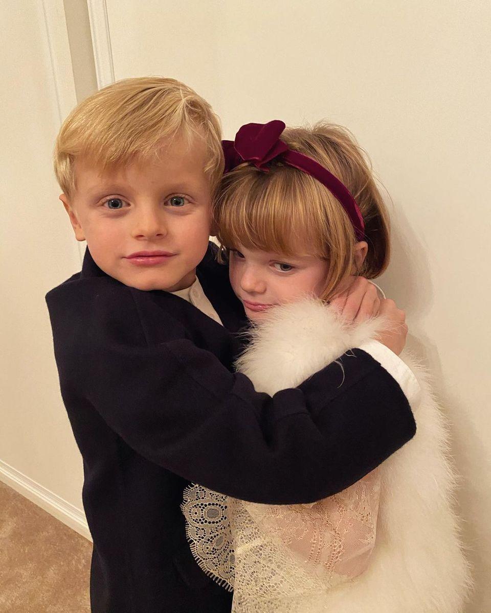 Royale Kinderfotos: Prinz Jacques und Prinzessin Charlene