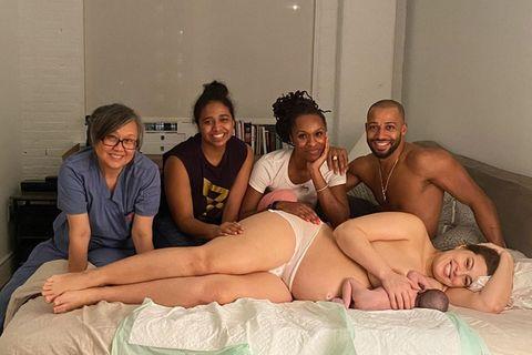 Ashley Graham zeigt besonderes Geburtsfoto