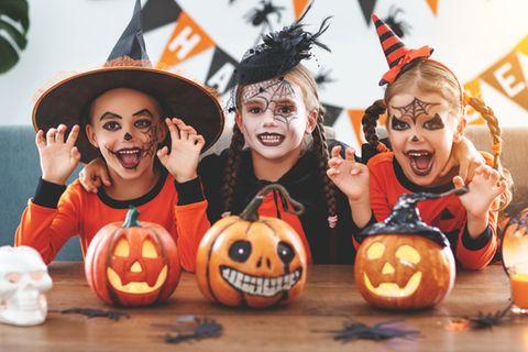 Halloween-Kostüme für Kinder: Verkleidete Kinder