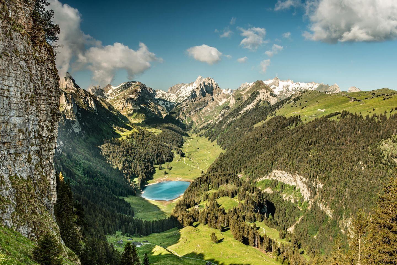 Alpsteinmassiv mit Säntis