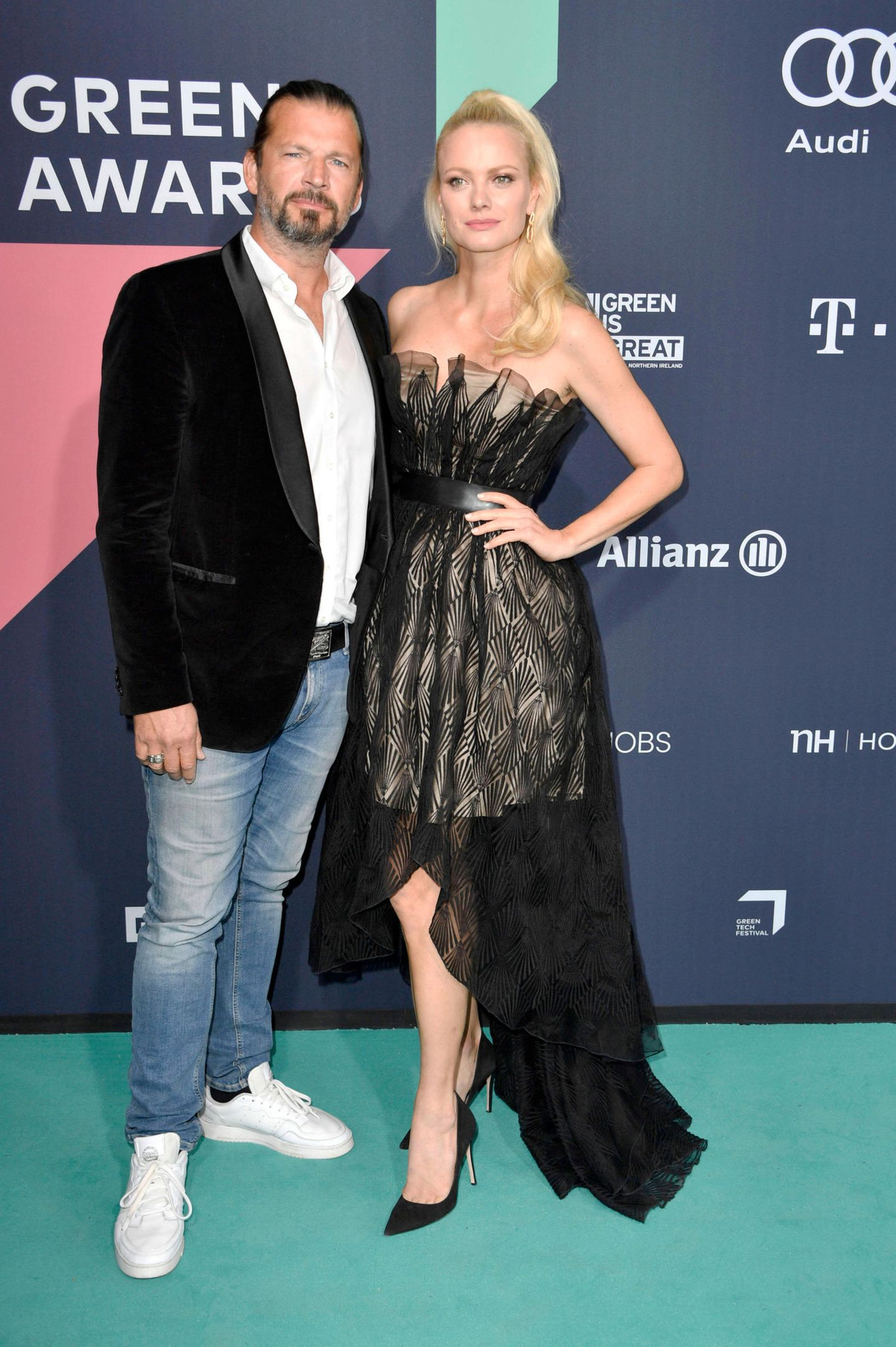 Promi-Paare: Franziska Knuppe und Christian Möstl