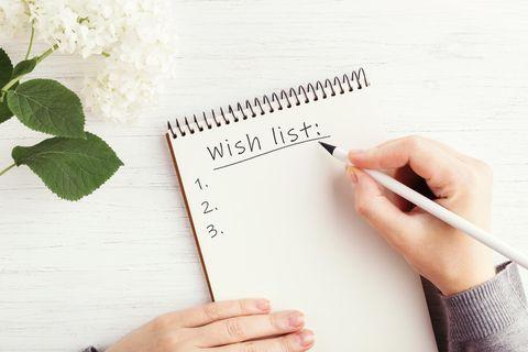 Wunschzettel schreiben