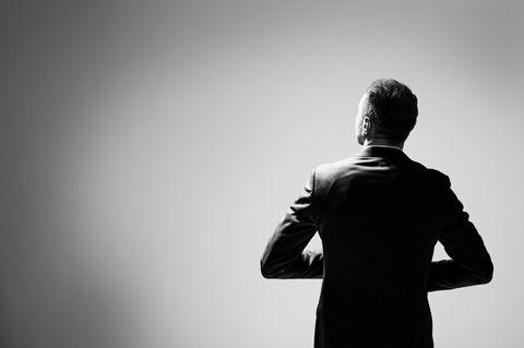 Gwilym Pugh: Ein attraktiver Mann von hinten