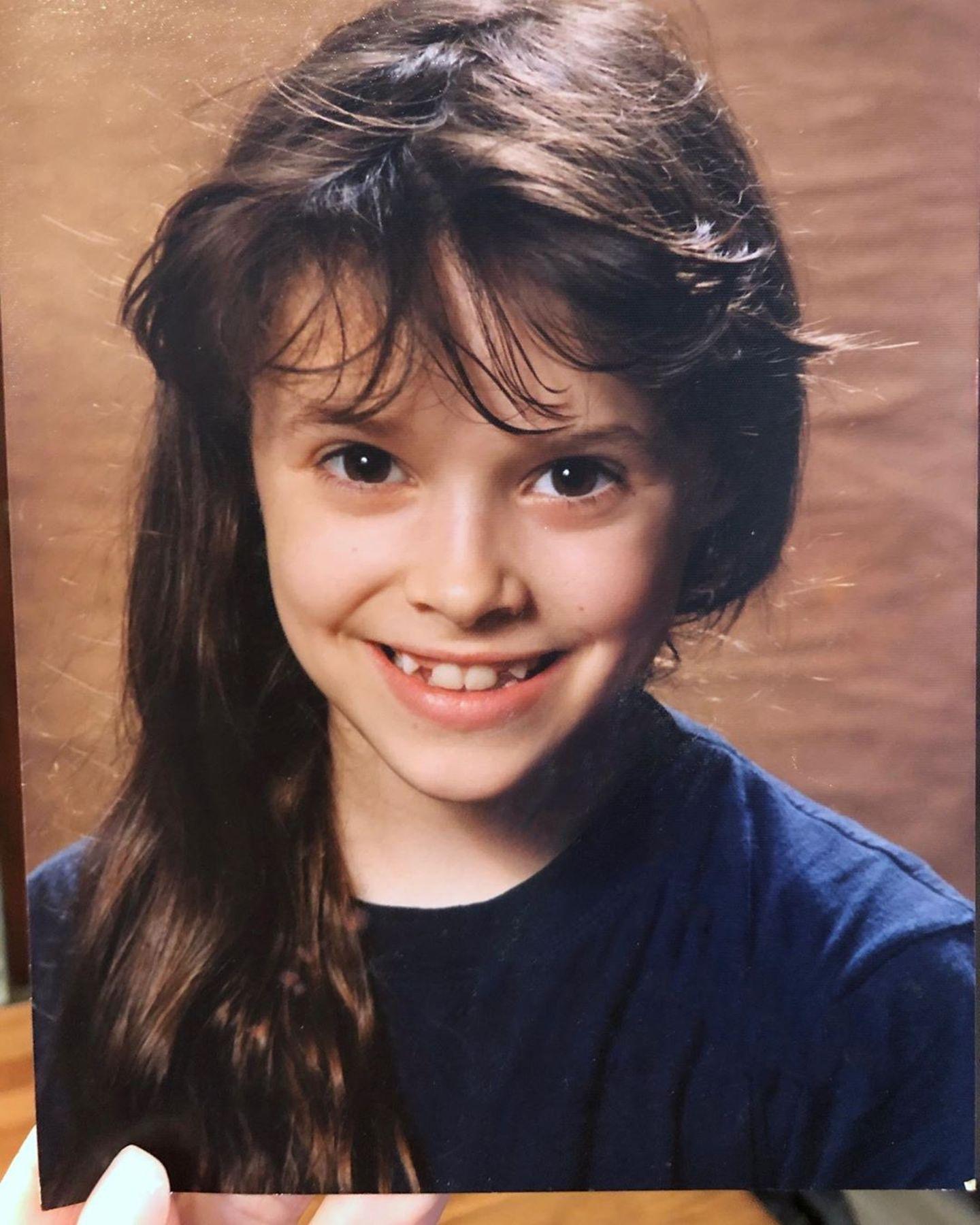 Kinderfotos der Stars: Daniela Katzenberger