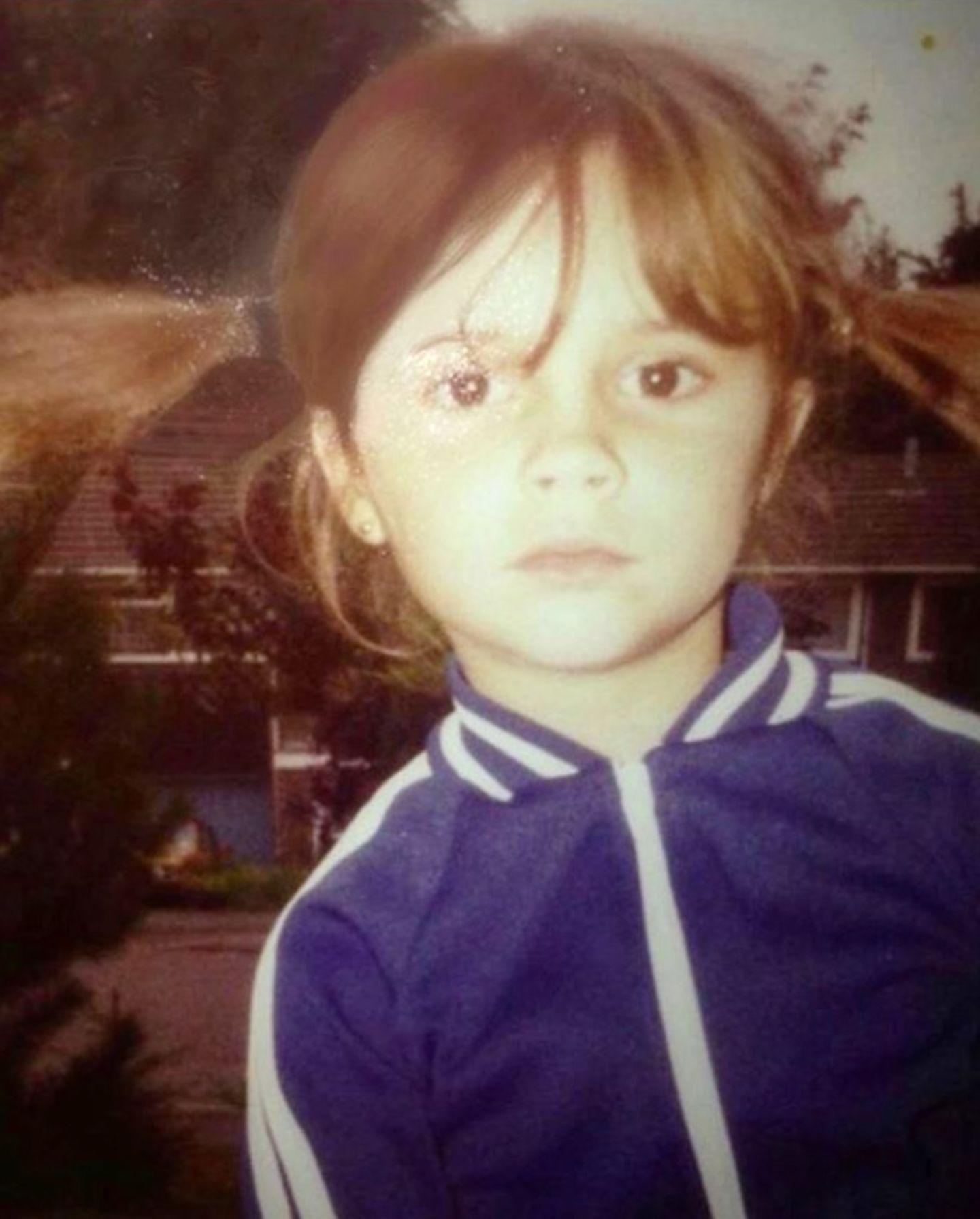 Kinderfotos der Stars: Victoria Beckham
