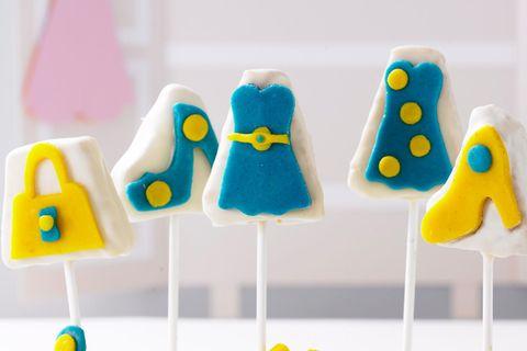 """Cake-Pops """"Kleid, Schuhe und Tasche"""""""