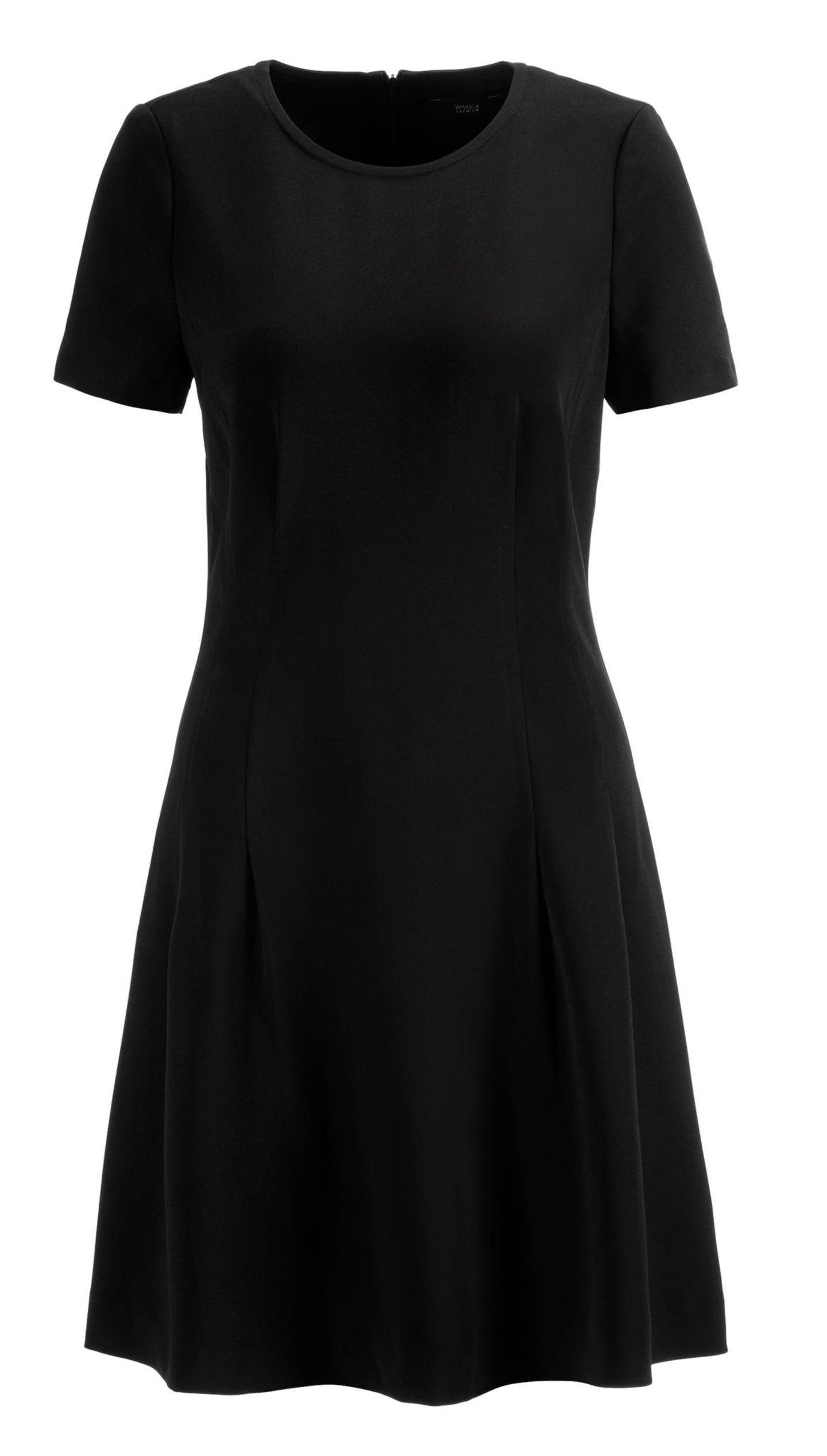 Partylooks für jedes Alter: schwarzes Minikleid von C&A