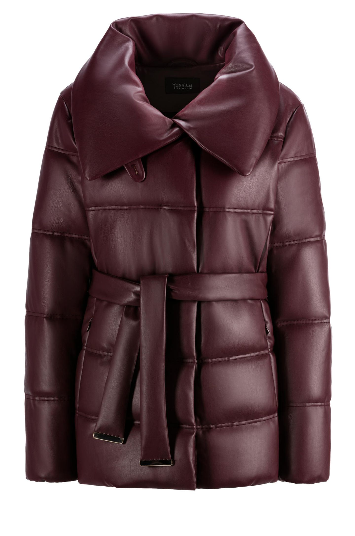 Partylooks für jedes Alter: Jacke in Lederoptik