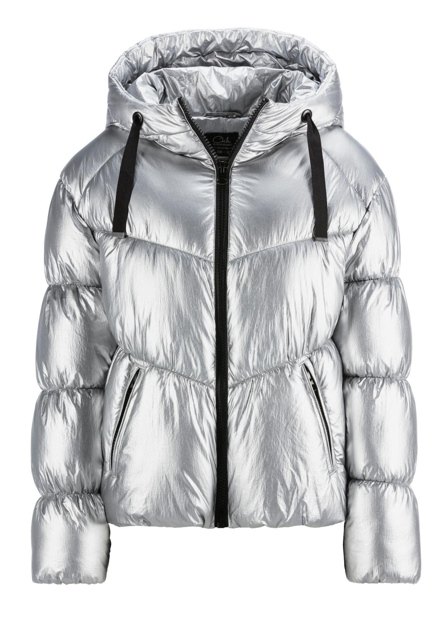 Partylooks für jedes Alter: Silber Jacke von C&A