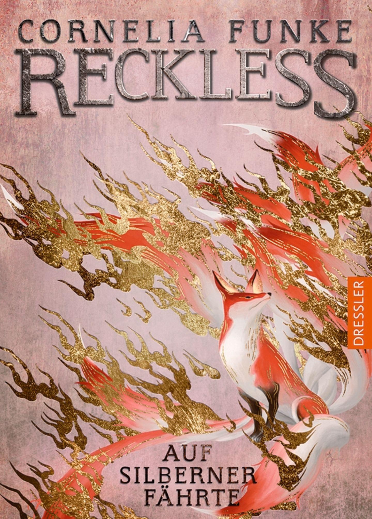 """Buchtipps der Redaktion: Buchcover """"Reckless – Auf silberner Fährte"""""""
