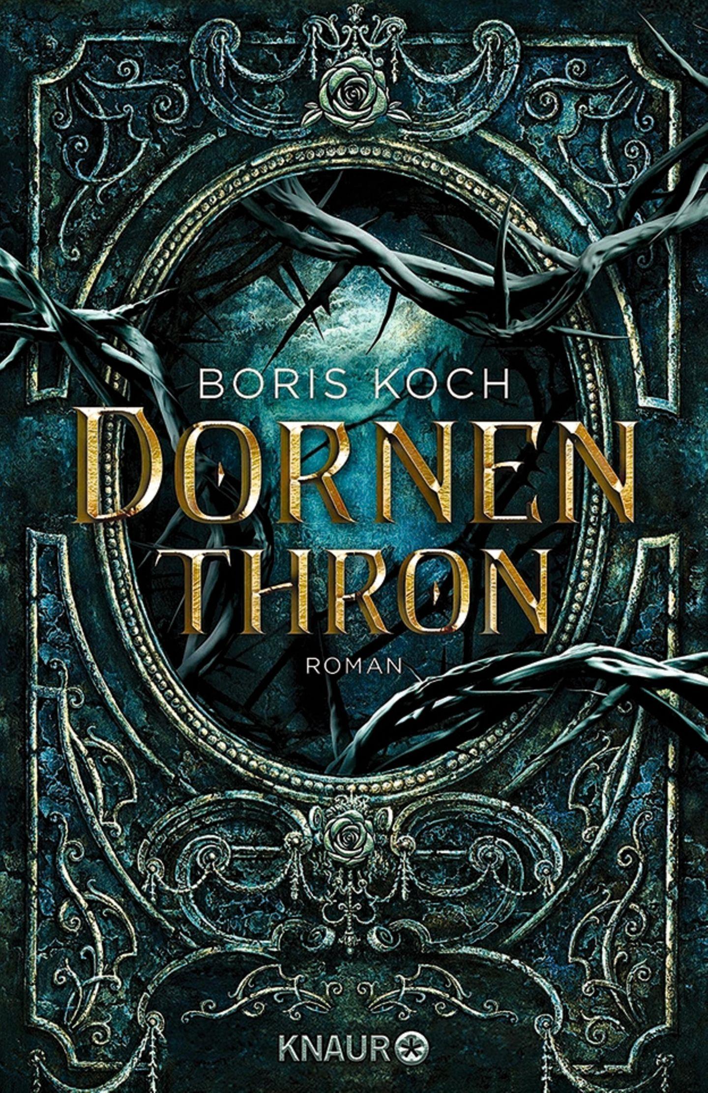 """Buchtipps der Redaktion: """"Buchcover """"Dornenthron"""""""