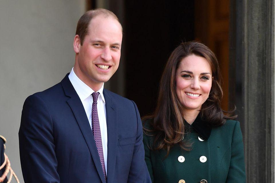 Prinz William + Herzogin Catherine suchen Unterstützung im Haushalt