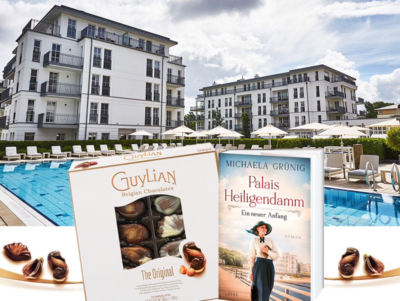 "Gewinnspiel: Genieße im Steigenberger den neuen Roman ""Palais Heiligendamm"" & Guylian Pralinen"