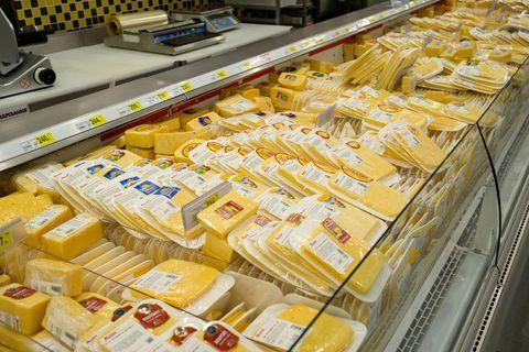 Käse aus dem Supermarkt