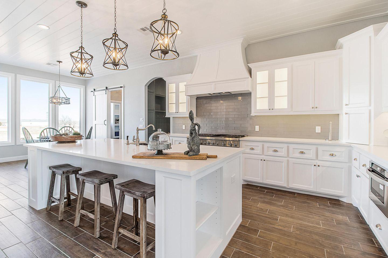 Wohntrend weiß: Weiß eingerichtete Küche
