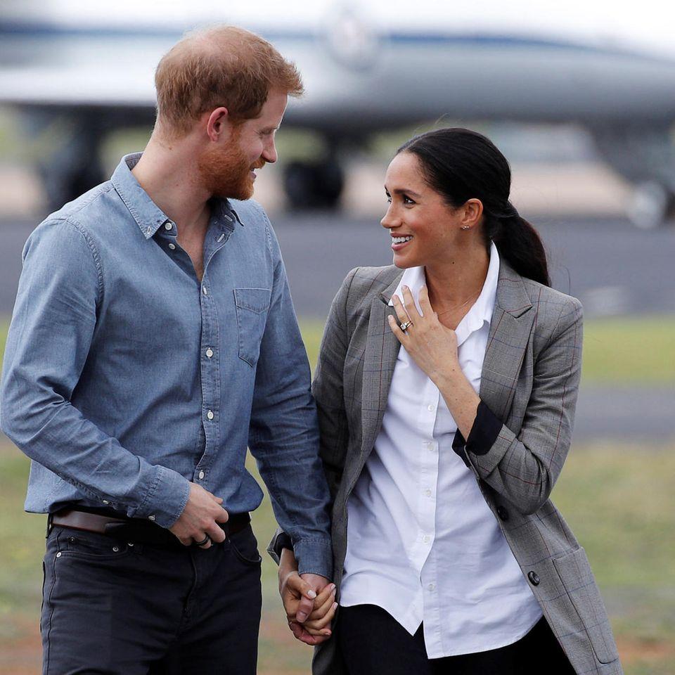 Spitznmamen der Royals: Prinz Harry und Herzogin Meghan