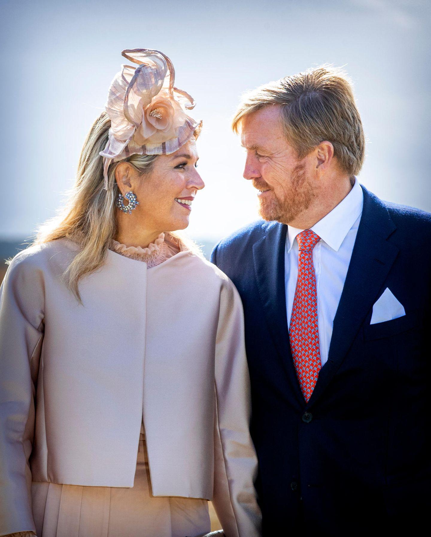 Spitznamen der Royals: Königin Maxima und König Willem-Alexander