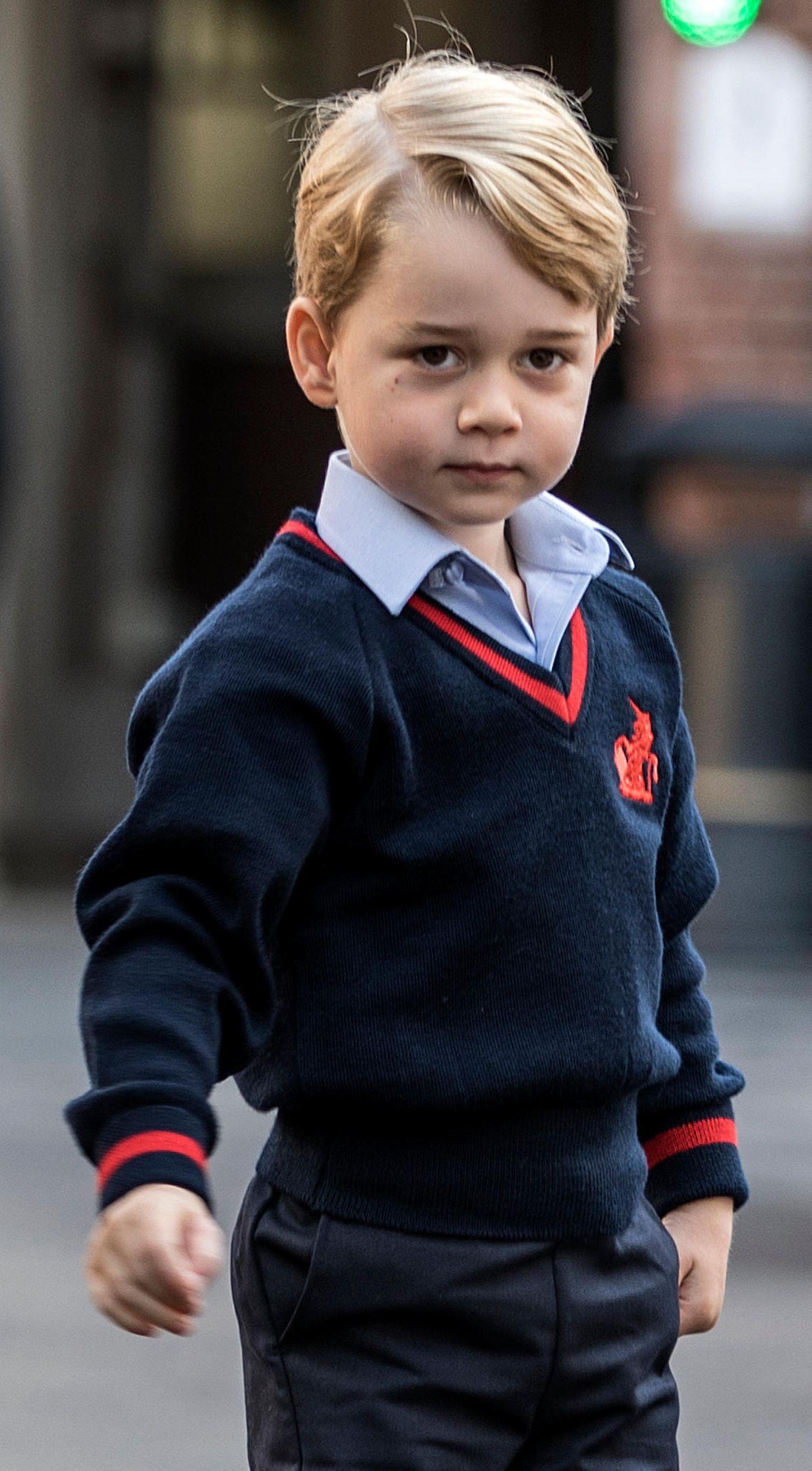 Spitznamen der Royals: Prinz George