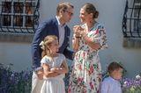 Spitznamen der Royals: Kronprinzessin Victoria von Schweden mit Familie