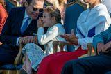 Spitznamen der Royals: Prinzessin Estelle mit Prinzessin Victoria und Prinz Daniel