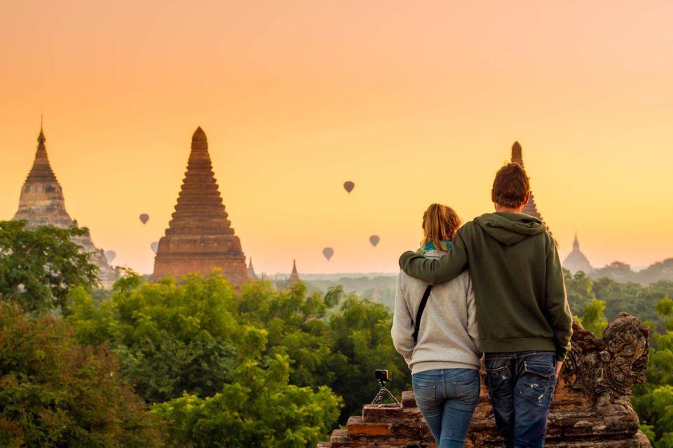 Beziehungsziele: Ein Paar im Urlaub