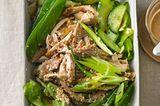 Pulled-Huhn-Salat mit Sesam