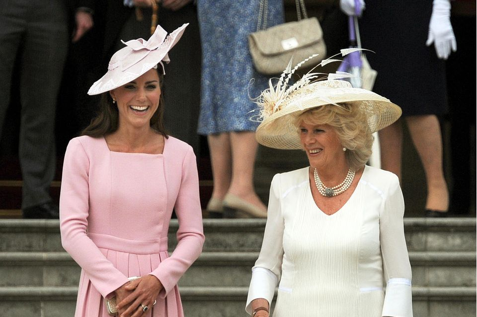 Herzogin Catherine: Im Kampf um William war Camilla ihre engste Vertraute