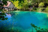 Naturwunder Deutschlands: blauer See