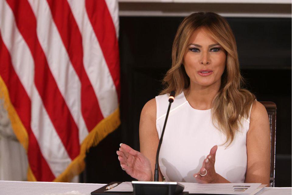 Melania Trump: Liebeserklärung an Donald