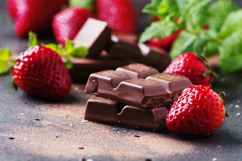 aphrodisierende lebensmittel: schokolade