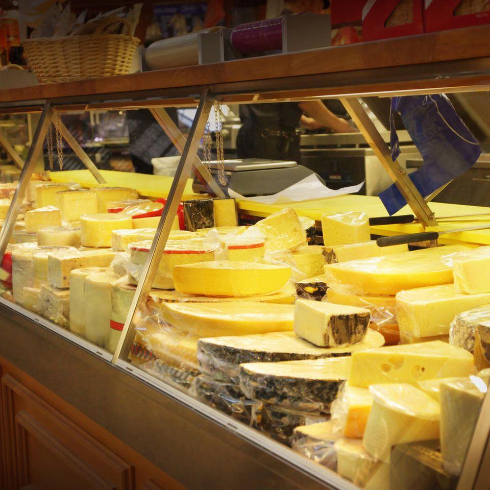 Rückruf: Käsetheke