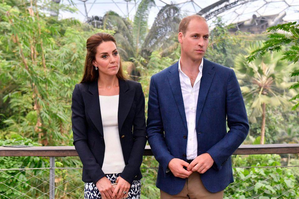 Baby Archie: Warum William + Kate ihn nach der Geburt 8 Tage nicht besuchten | Royals