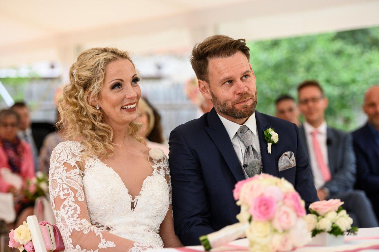 Hochzeit auf den ersten Blick: Brautpaar Cindy und Alex