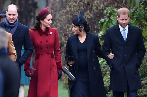 Herzogin Meghan: Prinz William bevorzugt? Sie öffnete Prinz Harry die Augen