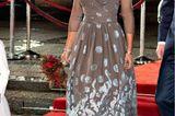 Prinzessin Mary: im grauen Kleid