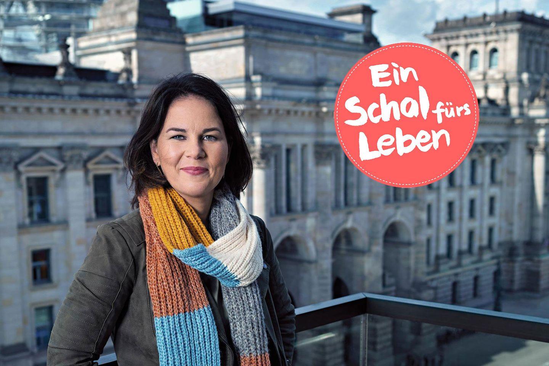 Schal fürs Leben: Annalena Baerbock