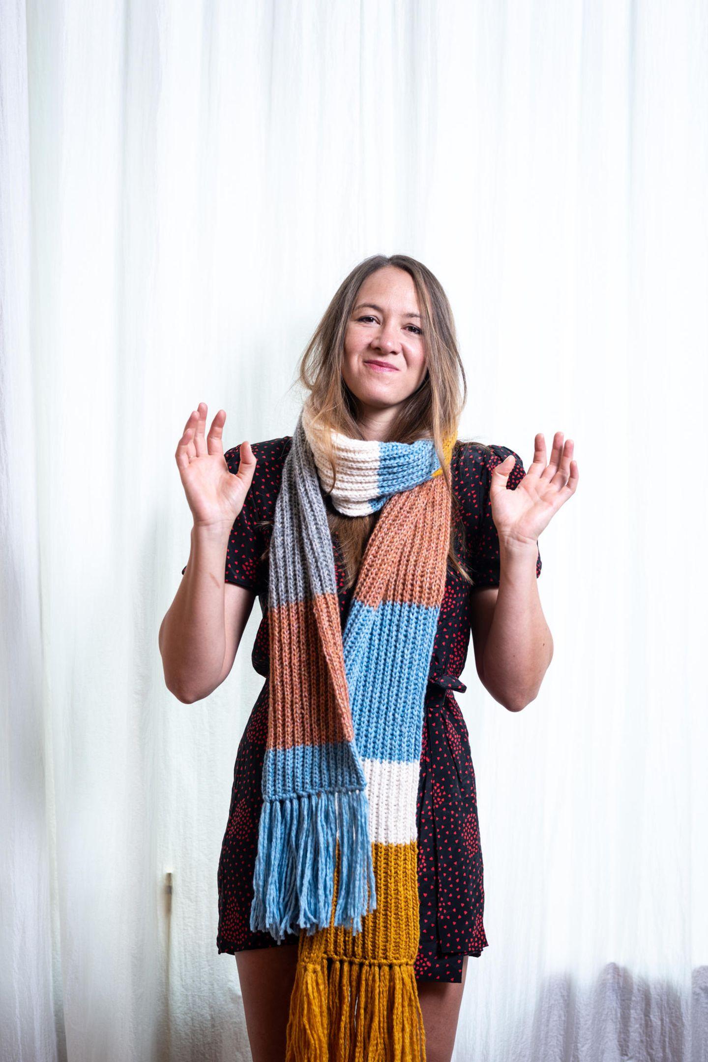 Ein Schal fürs Leben: Sophie Hunger