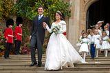 Royale Hochzeitskleider: Prinzessin Eugenie