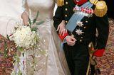 Royale Hochzeitskleider: Prinzessin Mary