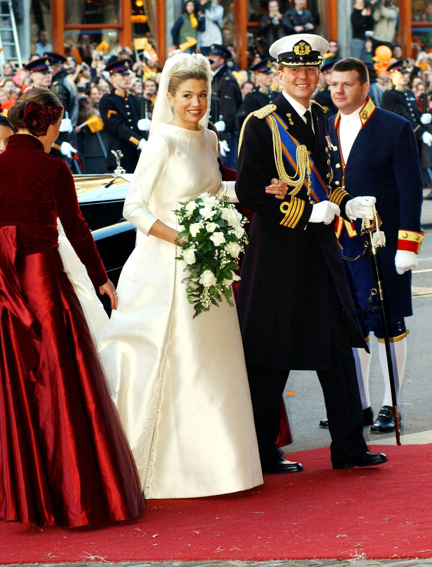 Royale Hochzeitskleider: Königin Máxima