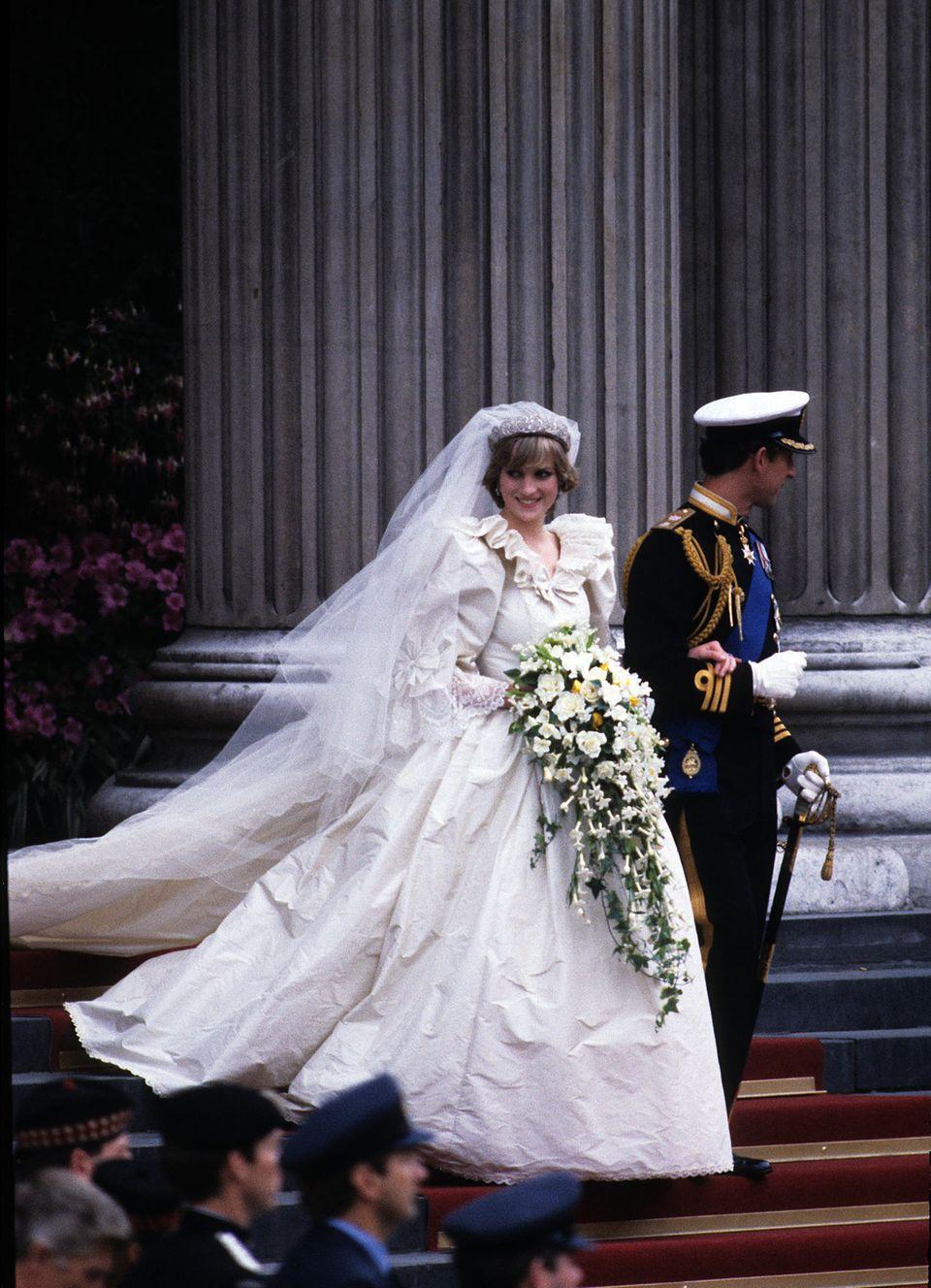 Royale Hochzeitskleider: Prinzessin Diana