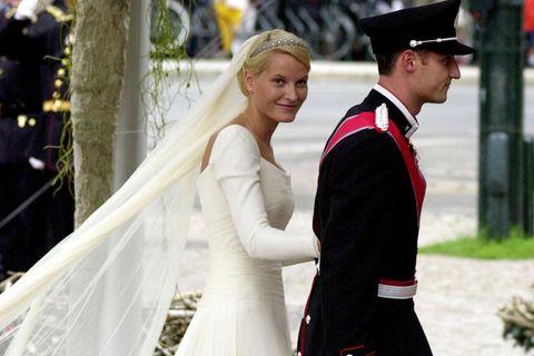 Royale Hochzeitskleider: Prinzessin Mette-Marit