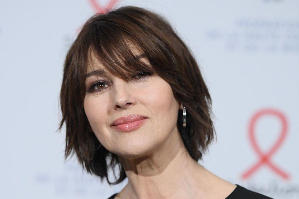 Frisuren ab 40: Monica Bellucci mit kurzen Haaren