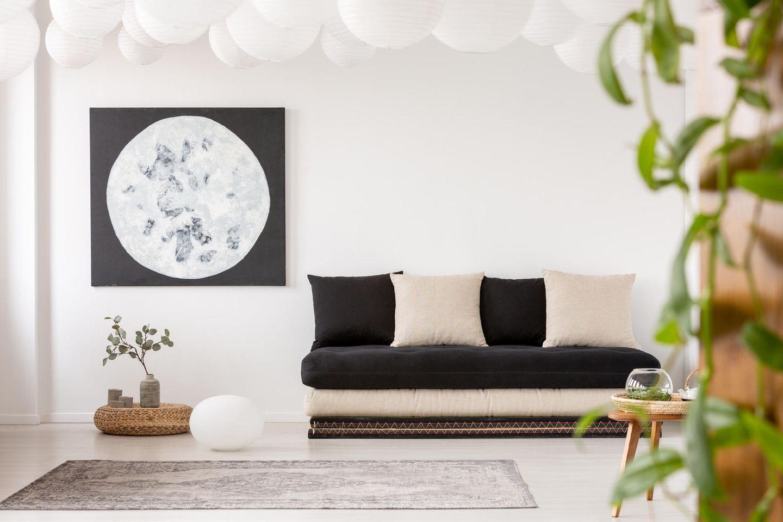 Japandi Wohntrend: Wohnzimmer