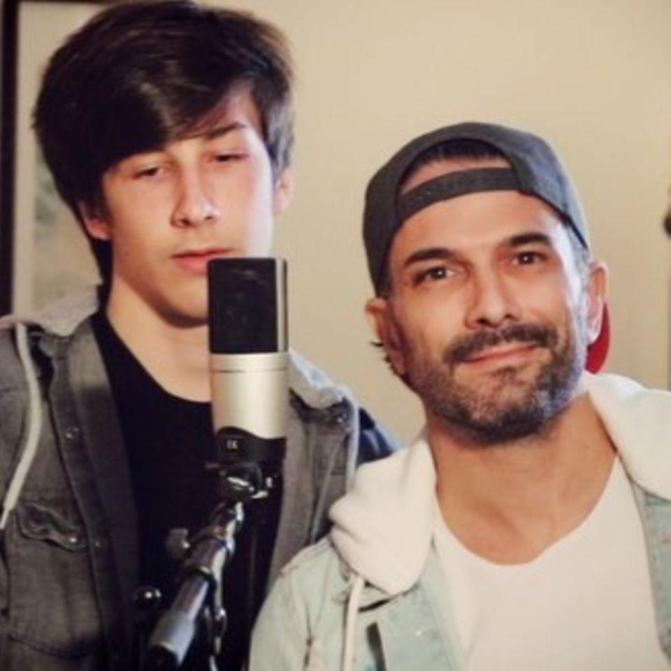 Marc Terenzi und Sohn Tyler singen Duett