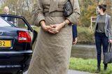 Königin Máxima: im Tweedkleid