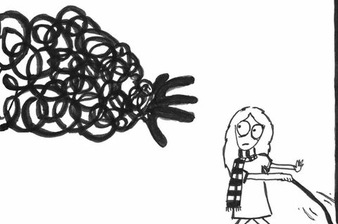 Black Box Blues: Mädchen und Hand