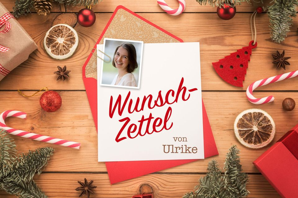Wunschzettel zu Weihnachten von Ulrike
